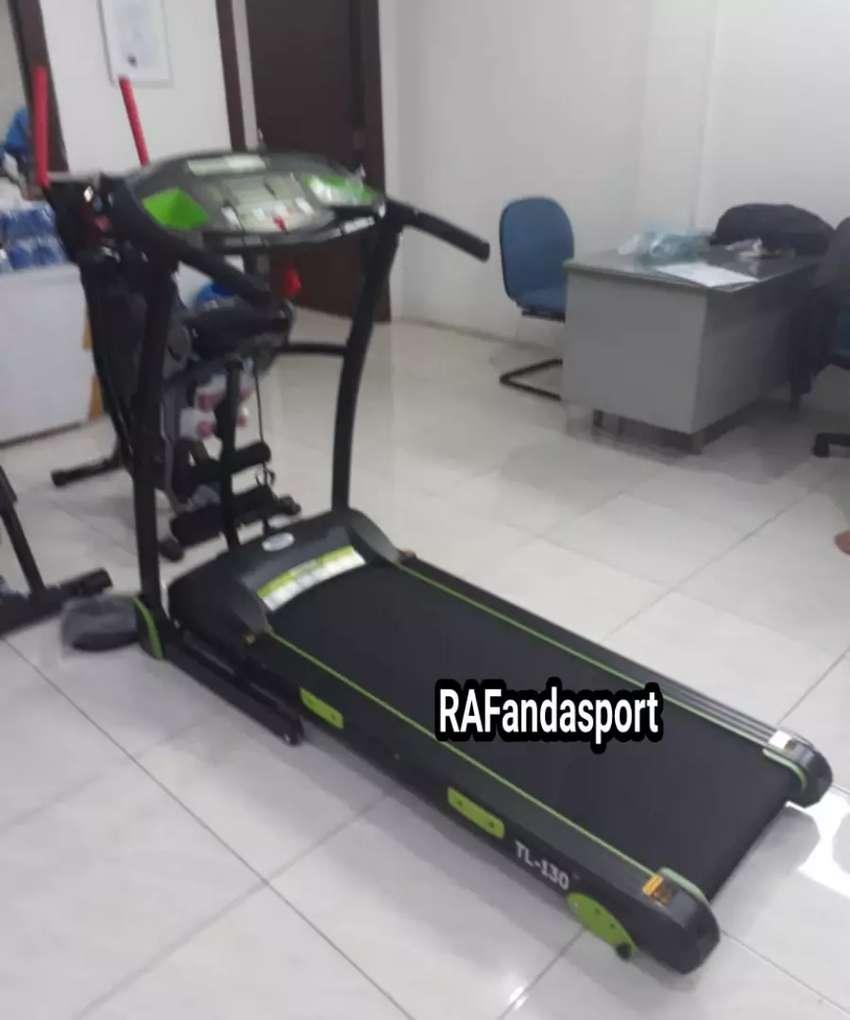 Treadmill Elektrik 3 Fungsi TL-130 Mesin 2Hp 0