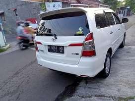 Innova diesel 2013 V asli barong double airbag di Jogja