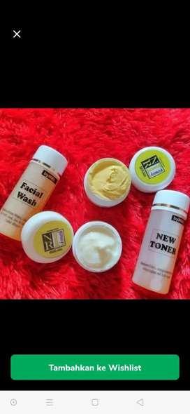 Nrl ORI 1 paket,towner,facial wash, day cream dan night cream