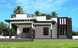 2 BHK MDA Simplex house for sale in gated colony Modipuram meerut