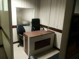 Furnished 250 sqft space for office on lease in chd