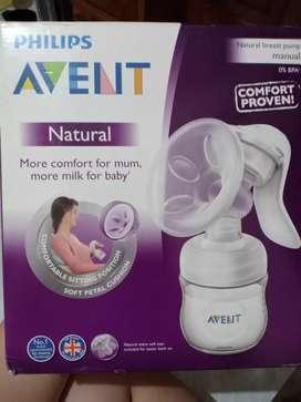 AVENT SCF330/20 Breast Pump Natural Manual + Bottle