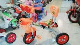Sepeda anak roda tiga, free ongkir bjm hub tlpon wa aja