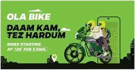 Ola Bike Taxi Attachment