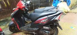 Honda dio red colour 5 year insurance 1 owner