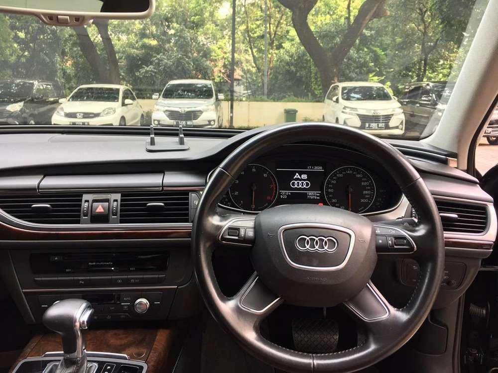 Audi A6 2012 Mulus, Tangan Pertama, Servis Reguler,  Pajak sd Okt 2020