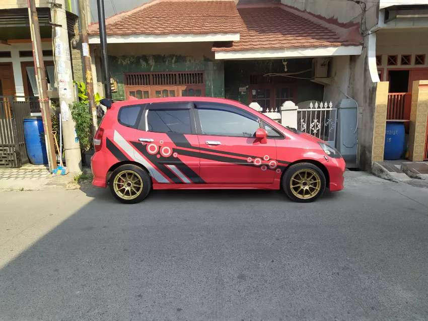 HONDA JAZZ VTEC 2006 AT MERAH 0