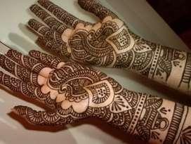 Professional Mehindi designer.