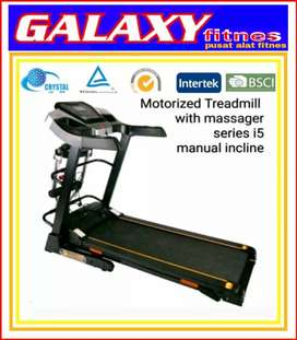 GALAXY FITNES/No.3388879/TREADMIL//SPEDA STATIS//ORIGINAL READY