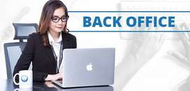 Required male and female candidates for Data entry / Back office job