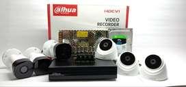 CCTV PROMO DAHUA 2MP 6 KAMERA FREE AUDIO
