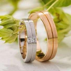 cincin couple indah