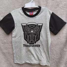 Kaos anak anak usia 4 tahunan