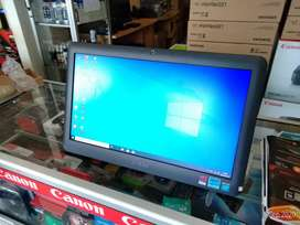 Pc aio ASUS dual core + batre  garansi 6bulan ready laptop