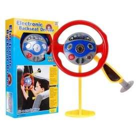 Electronic Backseat Driver Mainan Stir Setiran
