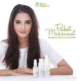 Paket Maksimal Treatment Green Angelica Obat Botak dan Rontok Parah