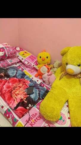 Boneka teddy bear jumbo semeter lebih