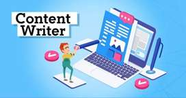 Internship to Become a Content Writer