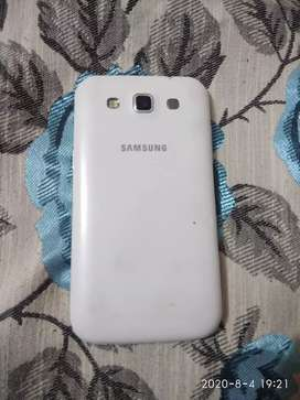 Samsung phone in excellent condition  like new piece white colour