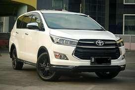Km 10rb Toyota Innova 2.4 Venturer Diesel AT Th 2018 White AntiQ!!