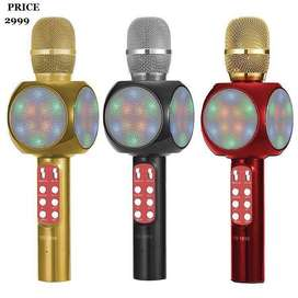 WS1816 Wireless LED Bluetooth Microphone Mic
