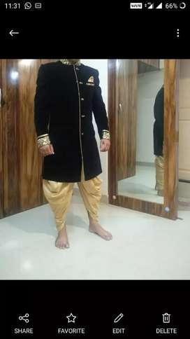 ethnic wear .sherwani