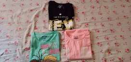 T-shirts for girls under 9 - 10 years