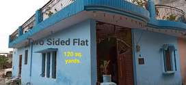 FLAT FOR SALE 2 SIDED GATED COLONY
