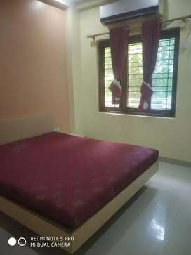 A 1bhk fully furnished flat in nearby Harsha Toyota showroom