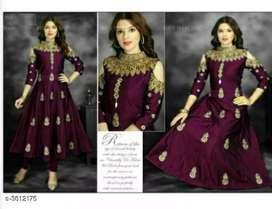 Stylish designer women's gown