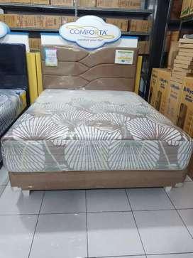 Kredit Springbed Comfort Pedic Uk 160x200