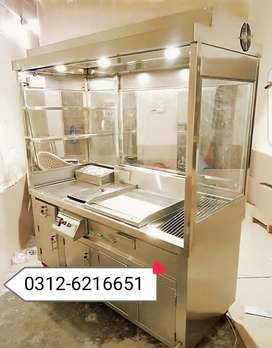 Fast food counter SS non magnet