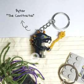 Gantungan Kunci Lego Ninjago Minifigure Bytar The Constrictai