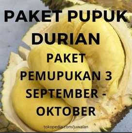 Pupuk Durian Paket 3 Pembungaan