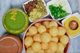 Need a boy or girl for serving GolGappa Aalu Tikki etc.