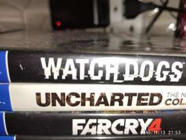 PS4 Games Watch dogs2, far cry 4, Uncharted series fixed price