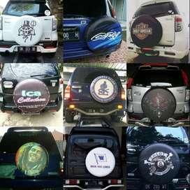 sarung/Cover Ban Serep escudo ROCKY/Rush/Terios#CRV-Jeep Batman kartun