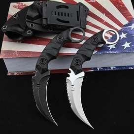 Pisau sangkur kerambit tactical import karambit krambit USA TNI Brimob