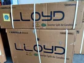 Lloyd 1.5 tn 5 Star Inverter AC@38990/- Free Installation 10 Yr Wrnty