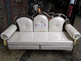 Stainless steel bed & sofa set