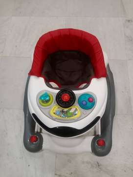 R Rabbit almost new baby walker