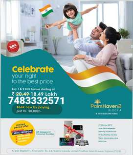 with all amenities 3776/- p/sq