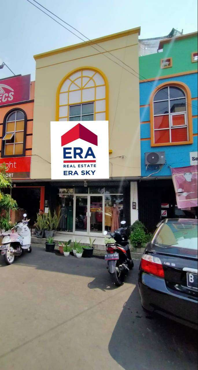 Ruko 3 lantai dijual di pertokoan ruko kranji di Bekasi 0
