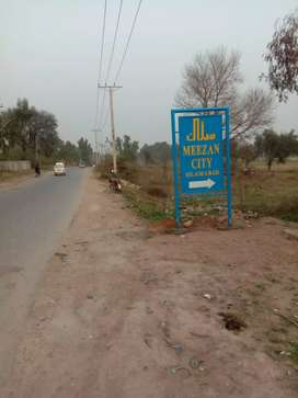 10 marla plot for sale Demand 14 lac