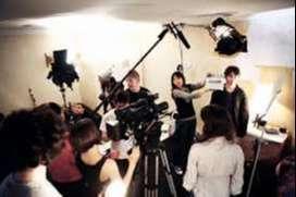ASST. DIRECTOR ,CAMERAMAN ,HELPERS JOBS IN FILM AND SERIALS SHOOTING