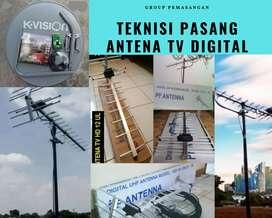 Instalasi Jasa Pasang sinyal Antena Tv Digital