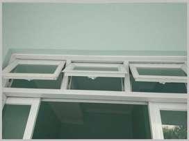 Murah Pintu Jendela Aluminium Warna COKLAT HITAM/77