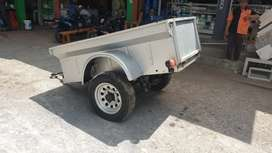 Gerobak Towing Roda 2