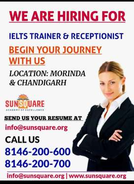REQUIRED IELTS/PTE TRAINER