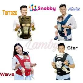 Gendongan HIPSEAT SNOBBY TPG2145 WAVE  TPG2148 STAR SERIES